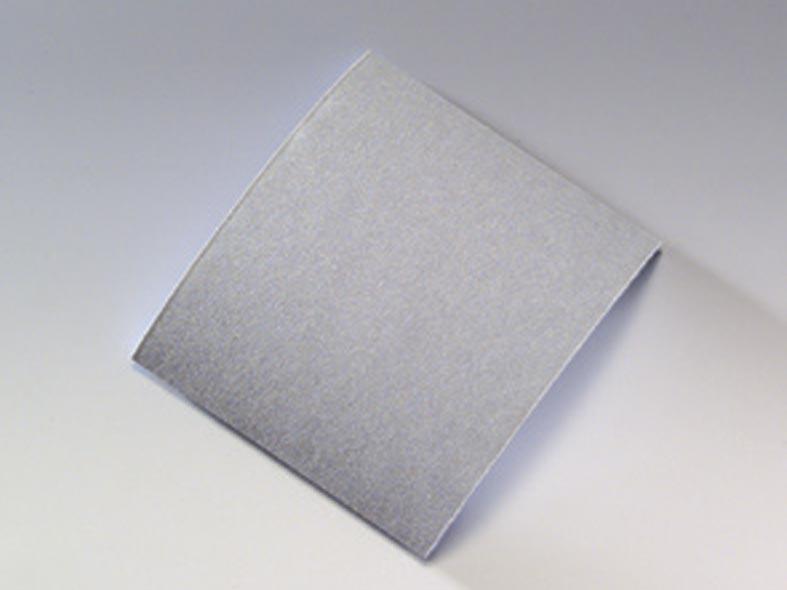 Brusný papír na molitanu - přířezy